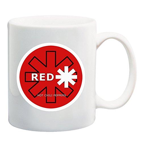 Red Hot Chili Peppers-Tazza, motivo: Insignia