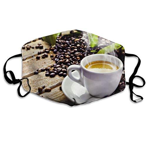 Vbnbvn Unisex Mundmaske,Wiederverwendbar Anti Staub Schutzhülle,Cup Coffee Sanitary Masks Anti Dust Kpop Maske für Mann Frau -