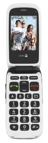 Doro PhoneEasy 612 GSM Sim Free Mobile Phone - Black