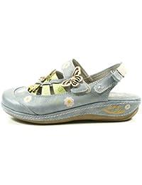 Mustang Damen Zehentrenner Blau, Schuhgröße:EUR 37