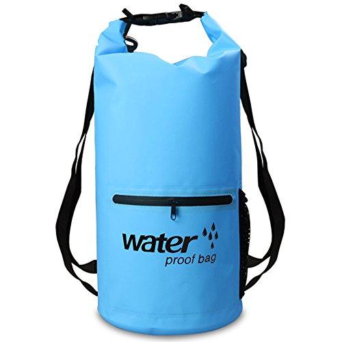 XBoze Bolsa Seca Impermeable Dry Bag 10L/20L Bolsa Estanca con Cremall