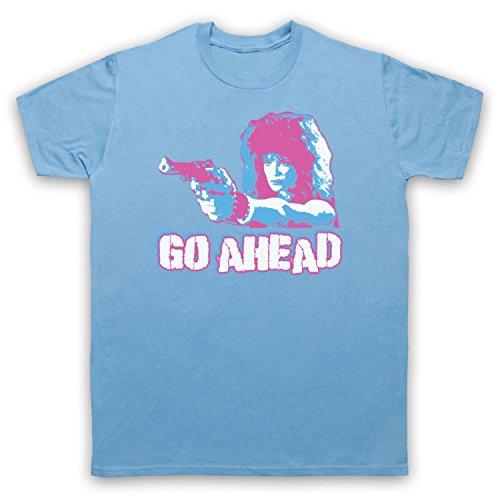 Inspiriert durch Weird Science Lisa Go Ahead Unofficial Herren T-Shirt Hellblau