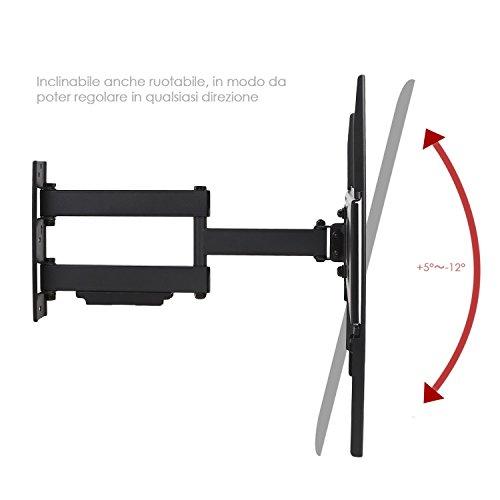 Simbr staffa con montaggio a parete per tv prezzi e offerte market patentati - Montaggio tv a parete ...