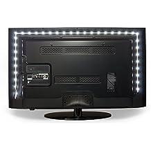 Vansky® 2M Sesgo de Iluminación en Gaza HDTV USB-LED de luz de fondo blanca MEDIO ALTO Kit para pantalla plana LCD TV, PC de escritorio (reducir la fatiga ocular y aumentar la claridad de la imagen)