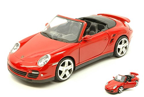 MOTORMAX MTM73348RD PORSCHE 911 (997) TURBO CABRIO 2005 RED...