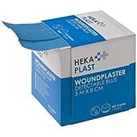 HEKA plast HACCP - Caja dispensadora (5 mx 6 cm, no estéril), color azul