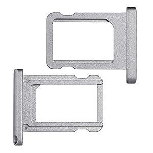 """BisLinks® Schwarz / Space Grau Nano SIM Karte Tablett Halter Ersatz Teil Für iPad Pro 9.7"""""""