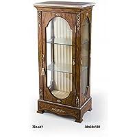 Casa-Padrino Baroque Display Cabinet 58 x 38 x H.130 cm - Baroque Furniture - Comparador de precios