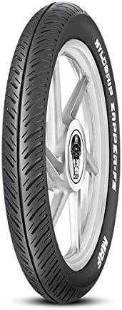 MRF Nylogrip Zapper-FS 2.75/18 42P Tube-Type Bike Tyre, Front