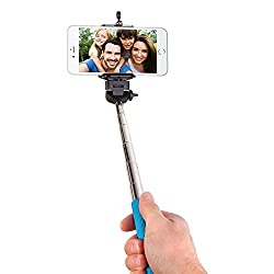 Smart Gear Extendable Monopod Selfie Stick, Blue