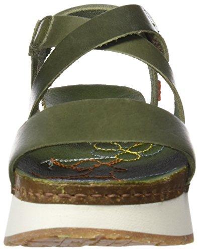 Art Ladies 0587 Mojave Sandali Peeptoe Mykonos Verde (kaki)