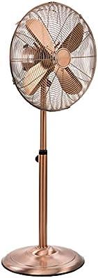 Tristar VE-5971 - Ventilador de pie con 40 cm de diámetro y acabado en cobre, 50W, color cobre