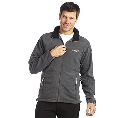 Regatta Stanton II Fleece veste Homme - Gris (Seal Grey) - FR : 58/60 (Taille Fabricant :XXL)