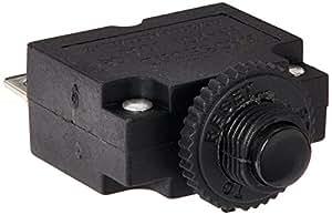 sourcingmap 125/250VAC 10A 2 Broches Disjoncteur Protecteur De Surcharge Thermique