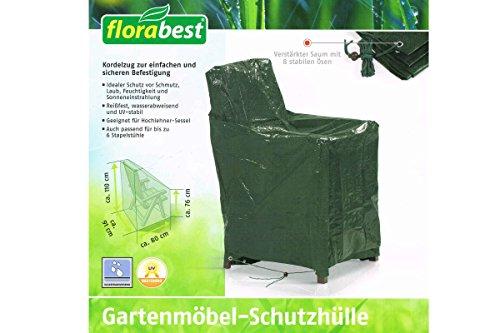 Florabest Gartenmöbel Schutzhülle, Reißfest, wasserabweisend und UV-beständig - für Hohlehner