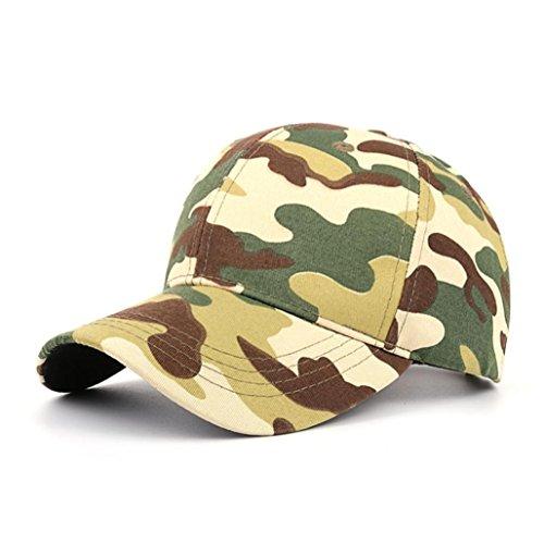 UFACE Tarnung Baseballmütze Frauen Männer Casual Tactical Outdoor Camouflage Sport Cap Baseballmütze (Grün) (Seahawk Tom Schuhe)