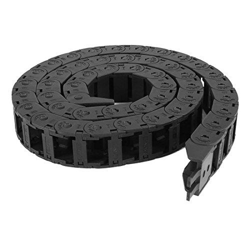 106,9cm Longueur câble noir fil Transporteur Drag chaîne gigognes 15mm x 20mm