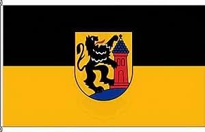 Königsbanner Autoflagge Dülken - 30 x 45cm - Flagge und Fahne