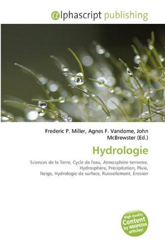 Hydrologie par Frederic P. Miller