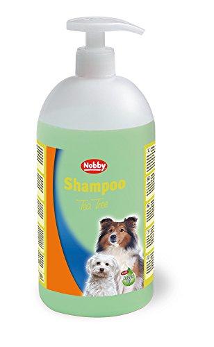 Nobby 75882 Shampoo für Hunde, 1000 ml - Teebaum (Shampoo Juckreiz Hund)