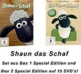 Shaun das Schaf - die komplette 1.+2. Staffel als 10.DVD Set - Special Edition (10 DVDs)