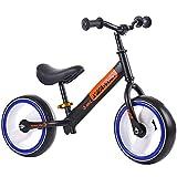 KY Vélo Enfants Girl garçons vélo coloré Lumineux Pneu 12 Pouces...
