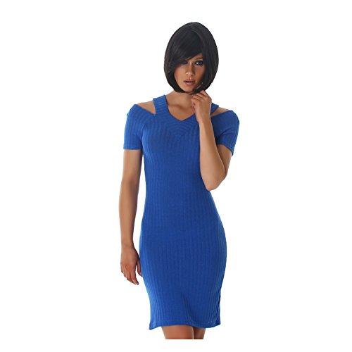 Jela London - Robe - Femme Bleu