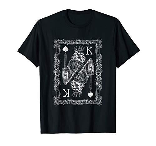 nig Skelett Shirt mit Schwert und Knochen ()