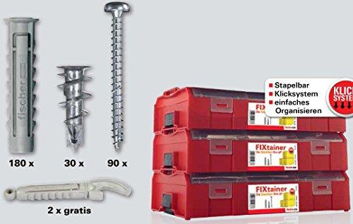 fischer-535317-fixtainer-elektriker-set-inhalt-300-st