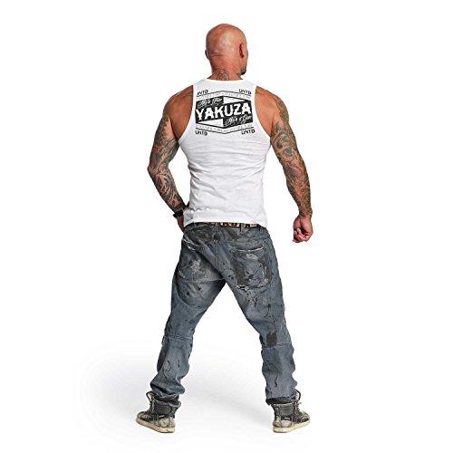 Yakuza Original Herren UNTD Tank Top T-Shirt Weiß