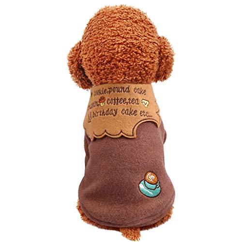 Haustier Hund Warm Mantel Jacke,Hundemantel Warm Wintermantel Hoodies Herbst Winter Warm Mantel Jacke Kleidung Pullover Hundekleidung Für Kleine Hundepullover (1950er Pudel Rock Kostüm)