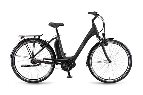 Winora Sima N7 300 Pedelec E-Bike Trekking Fahrrad schwarz 2019: Größe: 50cm
