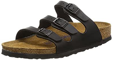 Birkenstock Women's Florida Sandals Black 6 UK/ EU39