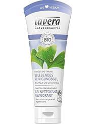 lavera Gel Nettoyant Revigorant - Vegan - Cosmétiques naturels - Ingrédients végétaux bio - 100% naturel 100 ml