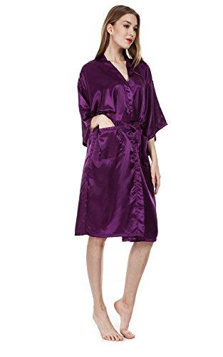EllenWell - Robe de chambre - Femme Violet