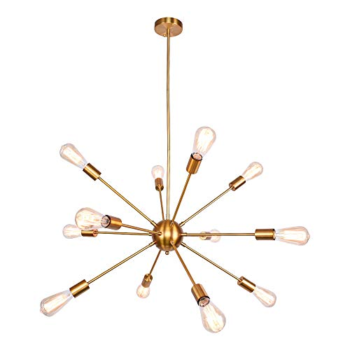 OYI Oro Moderno Sputnik Iluminación colgante Lámparas