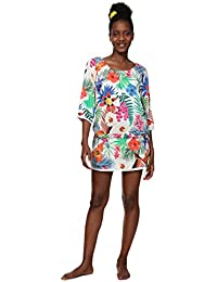 Desigual Top Swimwear Minowa Woman White Blouse Femme