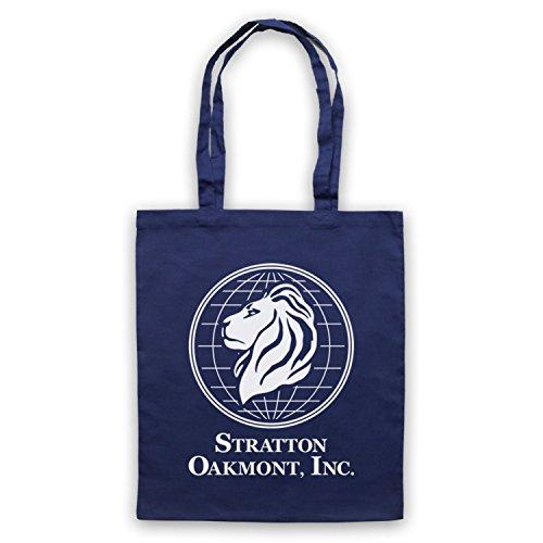 Inspiriert durch Wolf Of Wall Street Stratton Oakmont Inc Inoffiziell Umhangetaschen Ultramarinblau