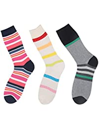 Klair Men's Crew Length Socks(Pack of 3)(Multi)