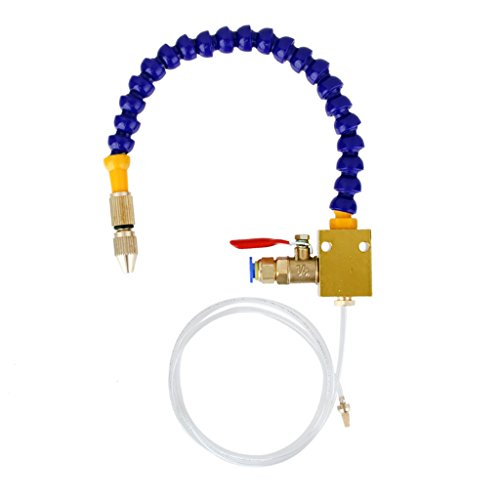 Imported Mist Coolant Spray System For 8mm Air Pipe CNC Lathe Drill Cooling Machine  available at amazon for Rs.445