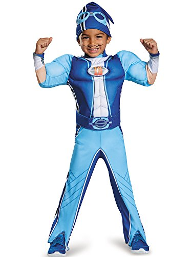 Nickelodeon's LazyTown Sportacus Muscle Chest Toddler Costume Medium 3-4T
