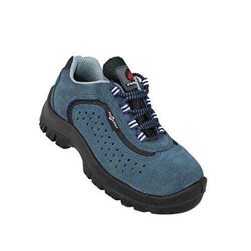Aimont bos s1P sRC chaussures de travail chaussures chaussures berufsschuhe businessschuhe plat bleu Bleu - Bleu