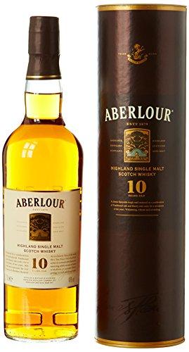 Aberlour Scotch whisky Highland single malt 10 ans d'âge 70 cl