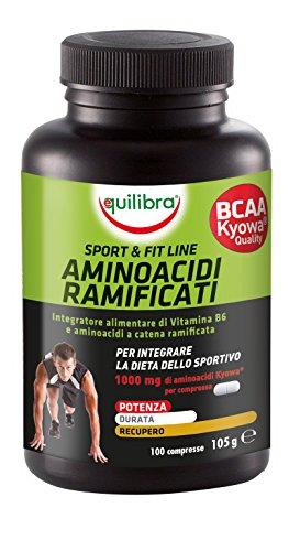 Equilibra - Aminoacidi Ramificati BCAA, 100 Compresse