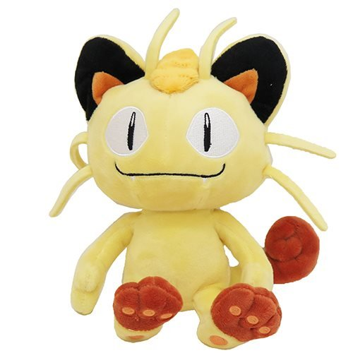 San-ei Pokemon ALL STAR COLLECTION Plush Meowth Size S PP37