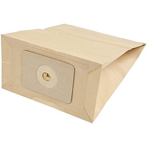 Bolsas para aspiradora con filtro de bolsas de papel para Numatic NVP 180/PPR 200/PPT 220 A/PSP 180 A/grabación de 200, 10er pack