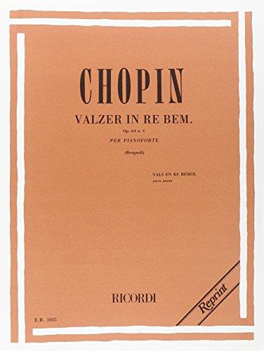 19 Valzer: N. 6 In Re Bem. Op. 64 N.1 'Valzer Di