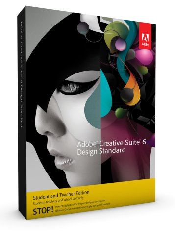Adobe Creative Suite 6 Design Standard Student and Teacher*