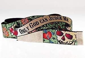 ceinture en tissu - Seul Dieu peut me juger - Web Belt - Tattoo