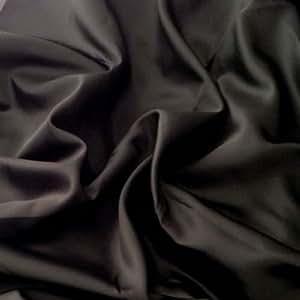 Tissu doublure polyester au mètre - Noir - Avenue des Tissus